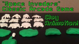 Space Invaders Claymation!