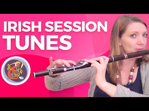 Intermediate Irish Wooden Flute Lesson: Micho Russell's Reel from www.oaim.ie with Kirsten Allstaff
