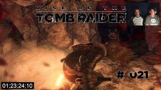 Let's Play Rise of the Tomb Raider # 021 Dunkle Wölfe gefährliche Höhlen