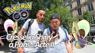 Seb et Ouss : Raid Cresselia Shiny - Acte II - Pokémon GO
