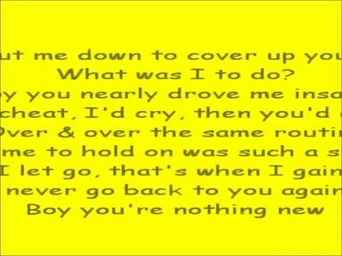 Auburn- So Over You w/ Lyrics