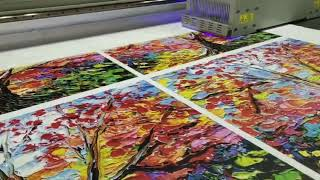 Higher quality Yotta digital canvas uv printing machine