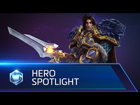 Varian Spotlight – Heroes of the Storm