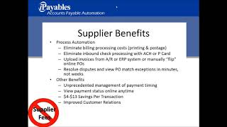 Webinar   AP Automation  A Review of the Benefits and Functionality