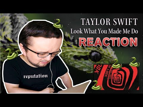 Taylor Swift - Look What You Made Me Do (Russian REACTION)
