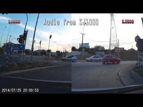 SJ4000 vs SJ1000 comparison side by side, Split screen - VW Eco up