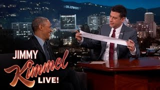 Will President Obama Do Something About Long Receipts?
