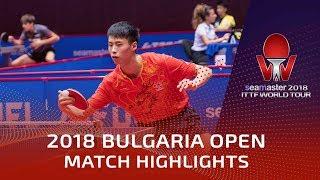 Xu Haidong vs Cristian Pletea | 2018 Bulgaria Open Highlights (U21-R16)