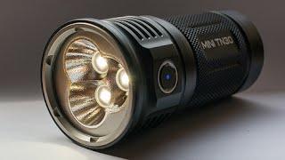 3,660 lumen flashlight for only $99 - Thrunite Mini TN30 (2016)