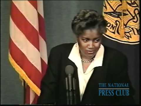 Donna Brazile, American author, professor and political analyst, ...