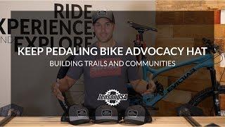 Jenson USA Gives Back! Keep Pedaling Cycling Advocacy Hat: 100% of Profits Donated!