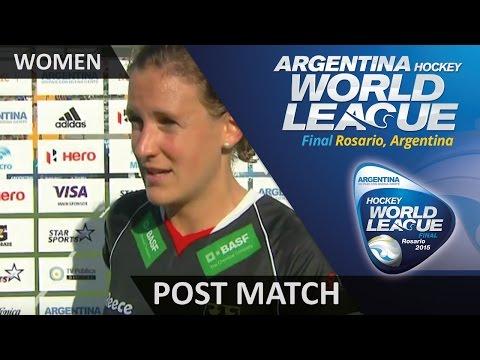 Post Match Interview Janne Muller-Wieland