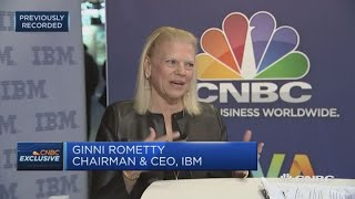 Every job will change because of technology, IBM CEO says | Squawk Box Europe