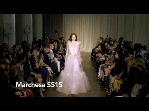 Marchesa  SS15 at London Fashion Week