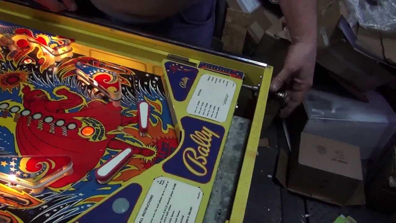 fireball pinball machine home edition