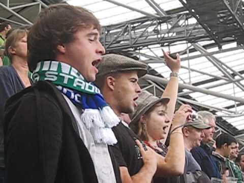 Guinness Series 2011 - French Anthem - Ireland vs France 20.08.11 @ Aviva Stadium