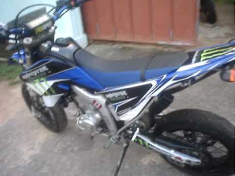 yamaha wr250 x monster graphic kit by d d graphics