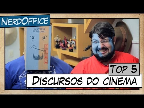 NerdOffice S03E12 - Top 5 Discursos do Cinema