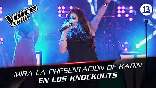 The Voice Chile | Karin Cáceres - What