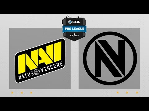 CS:GO - NaVi vs. EnVyUs [Train] Map 2 - ESL Pro League Season 5 - EU Matchday 9