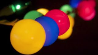 Party Lights - Fun Craft with String Lights and Ping Pong Balls