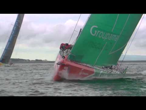 PUMA gagne la course In-Port Discover Ireland - Volvo Ocean Race 2011-12
