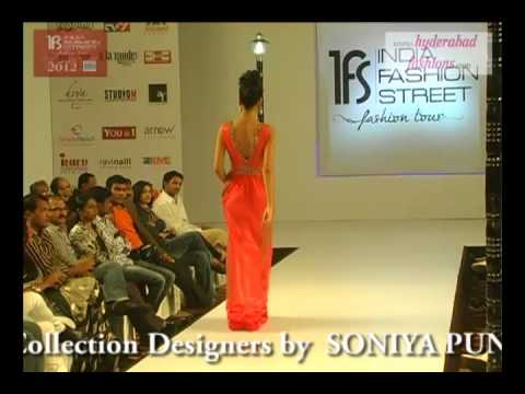 India Fashion Street Fashion Tour 2012, Fashion Designer Sonia Punwani Fusion & Westerns Collections
