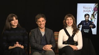 """The Cast of """"Mozart in the Jungle"""" Talks Season 3 Behind The Velvet Rope with Arthur Kade"""