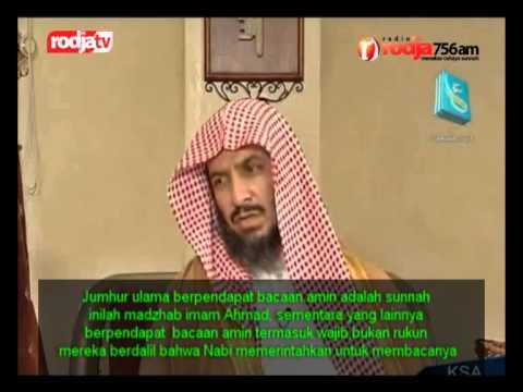 Syaikh Dr  Sa'ad Bin Nashir Asy Syatsri - Rukun-rukun Shalat -  فضيلة الشيخ سعد بن ناصر الشثري