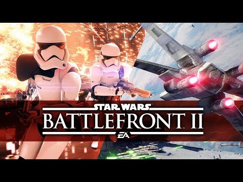 Star Wars Battlefront 2 - Galactic Assault Naboo Gameplay (Star Wars Battlefront II)