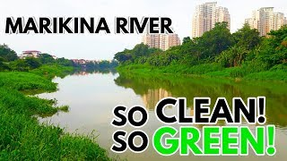 LUTANG NA GANDA NG MARIKINA RIVER, SO CLEAN! SO GREEN!