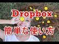 Dropboxダウンロードと使い方解説動画