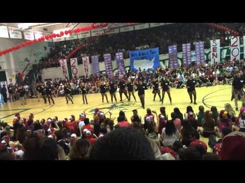 Upland High School's Hip Hop Team Senior Performance