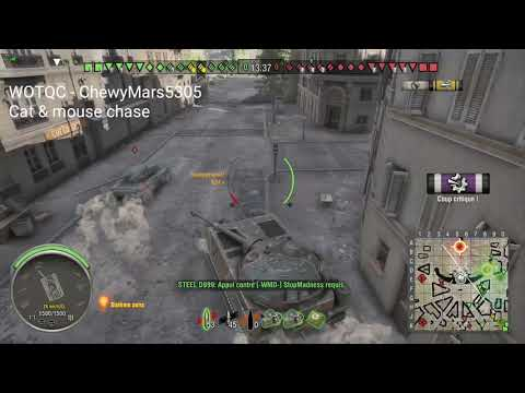 WOTQC - ChewyMars5305 - World of Tanks Xbox - Cat and mouse chase