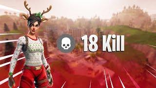 მოვიხოდე  18 KILL GAME !!! ( Fortnite Battle Royale ) - ქართულად [REDZERG]