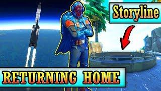 THE VISITOR IS RETURNING HOME! (BLOCKBUSTER SOLVED) Fortnite Season 4 Storyline *Map Changes*