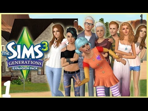 Lets Play: The Sims 3 Generations - (Create-A-Sim)