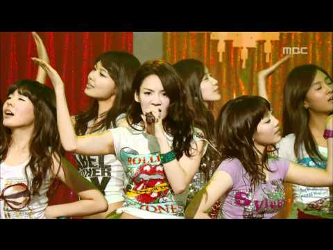 Girls' Generation - Gee, 소녀시대 - 지, Music Core 20090110 video