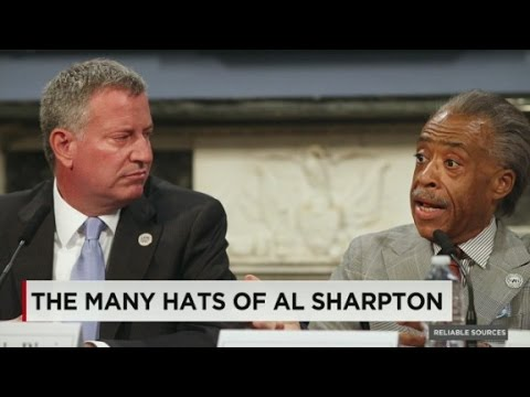 The many hats of MSNBC's Al Sharpton