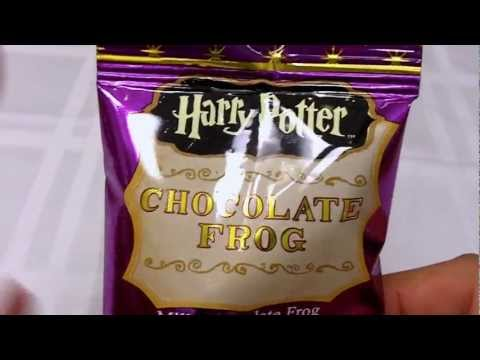 Harry Potter Chocolate Frog Unwrapping And Taste Test Review