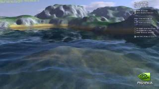 Nvidia Water And Terrain Demo, GeForce GTX 480 Tessellation