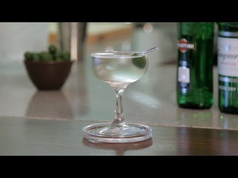 How to Make a Martini | Cocktail Recipes