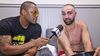 Paulie Malignaggi BROKEN HAND & FACE BLOODIED in LOSS vs. Artem Lobov