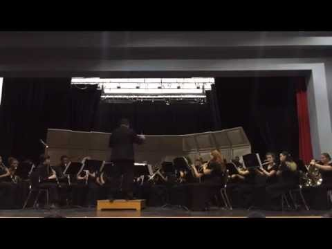 North Springs High School Band plays John Williams