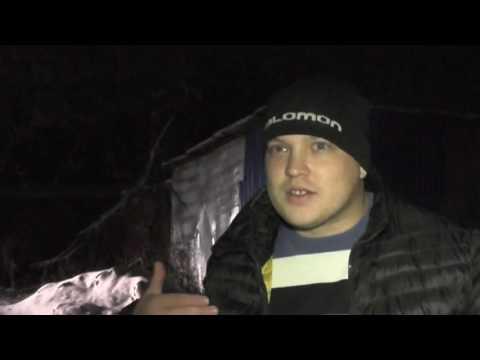 Пьяный бесправник и Шалагин на БМВ X1, ул. Ключевая. Место происшествия 07.11.2016