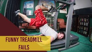 Funny treadmill fails compilation