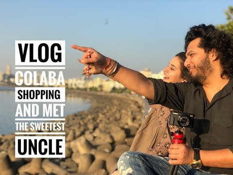 COLABA  SHOPPING HAUL | MET THE SWEETEST UNCLE | VLOG | Shivshakti Sachdev