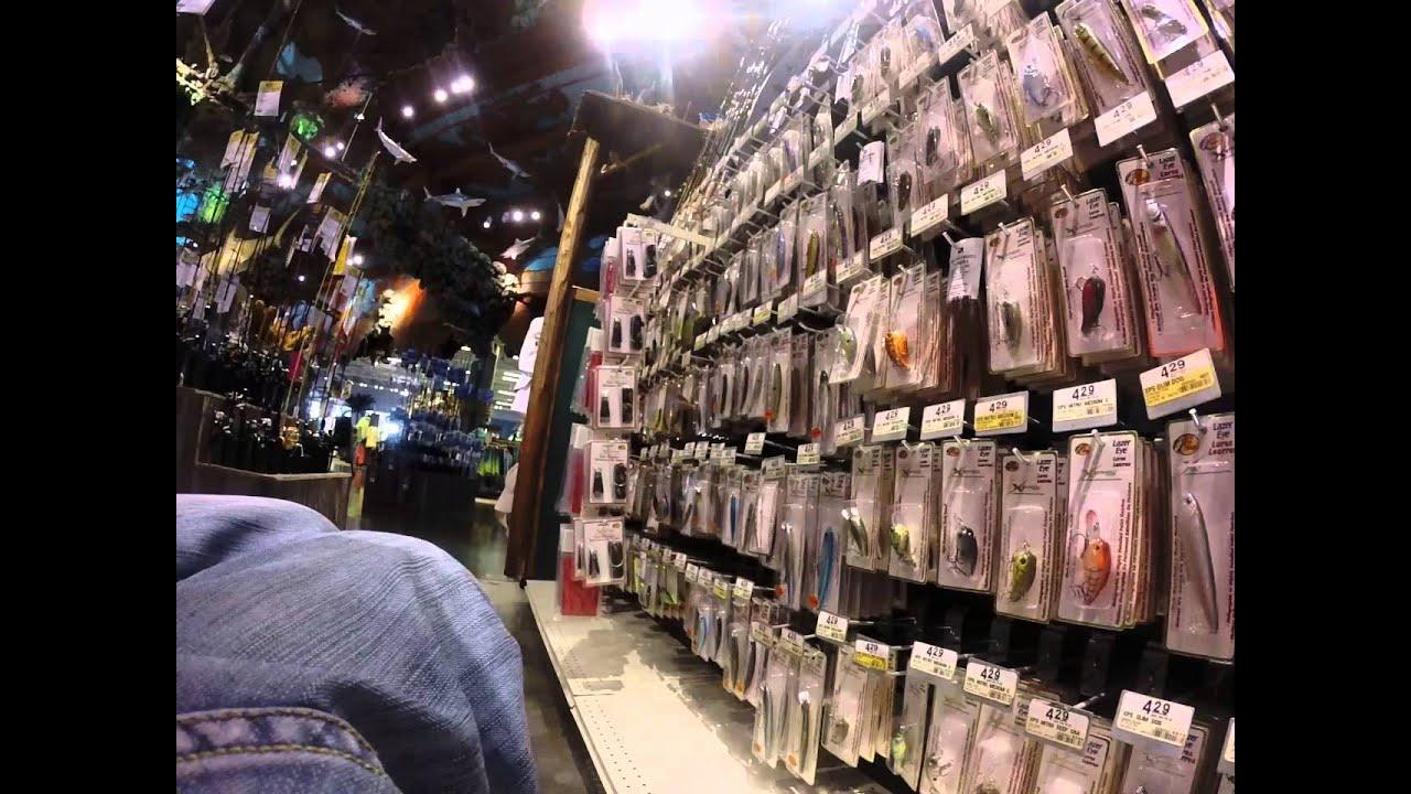 Bass pro shops plus grand magasin du monde de peche youtube for Magasin d usine maison du monde