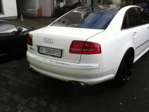 Audi A8 W12 >> Audi A8 W12 Exhaust Sound Sportauspuff by TC Concepts - YouTube
