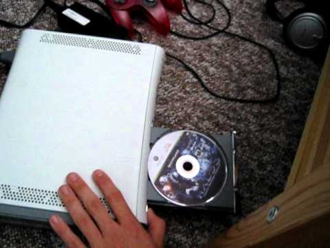 how to open xbox 360 tray from in game